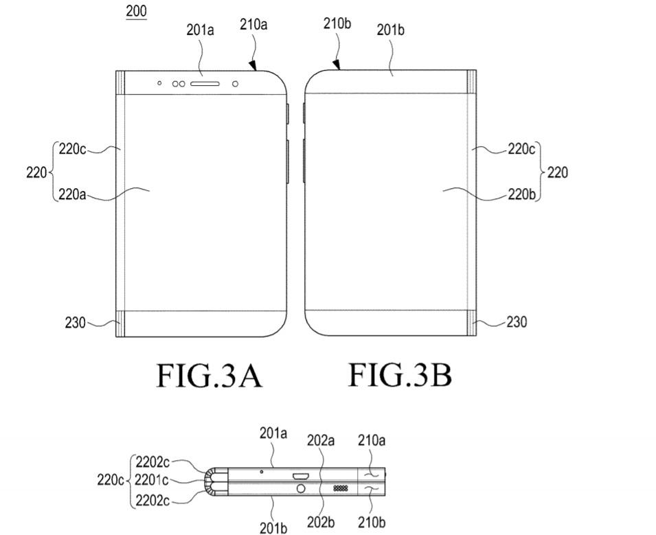 Samsung phone patent