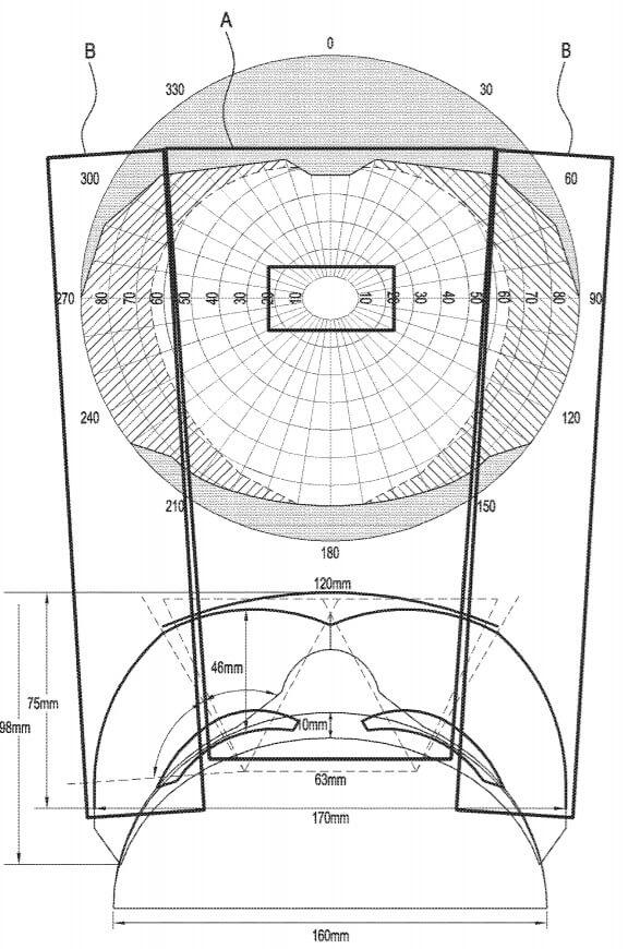 Gear VR patent