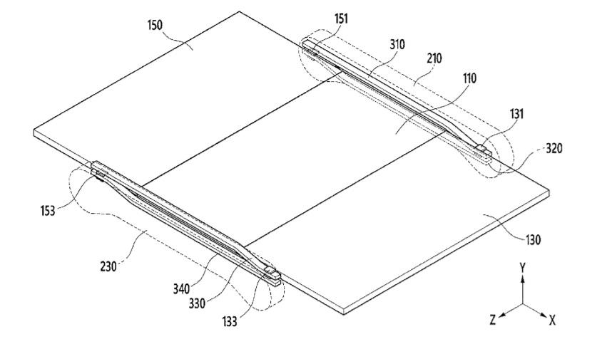 tri fold patent