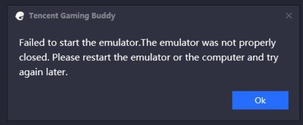 pubg emulator error